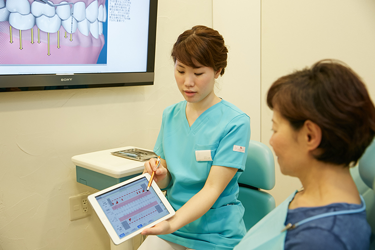 患者様に合わせたステップアップができるから「続けられる予防歯科」