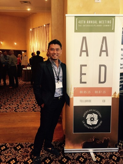 AAED(American Academy of Esthetic Dentistry=アメリカ歯科審美学会)